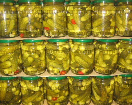 pickled cucumber 6-9cm 720ml