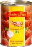 Canned lychees in light syrup 565g